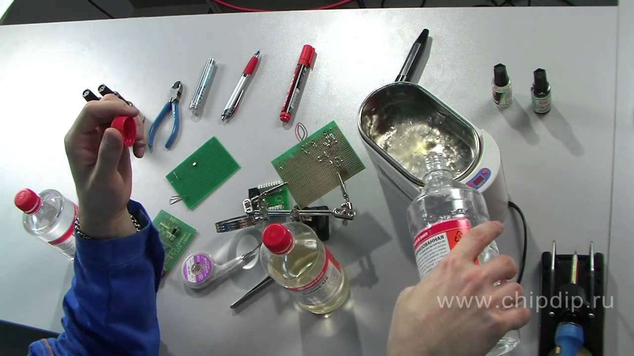 Cleaning Agents For Printed Circuit Boards Youtube Etch A Board Using Simple Homemade Mixture