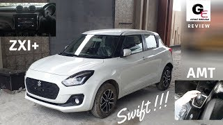2018 Maruti Suzuki Swift ZXI+ AMT | Automatic | most detailed review | features | specifications !!! Video