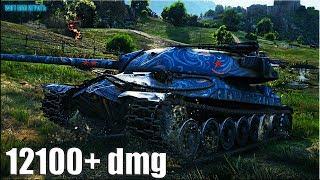 12100+ dmg КАК ИГРАЮТ НЕ СТАТИСТЫ на ИС-7 🌟 World of Tanks максимальный урон