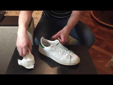 Как восстановить кожу на кроссовках
