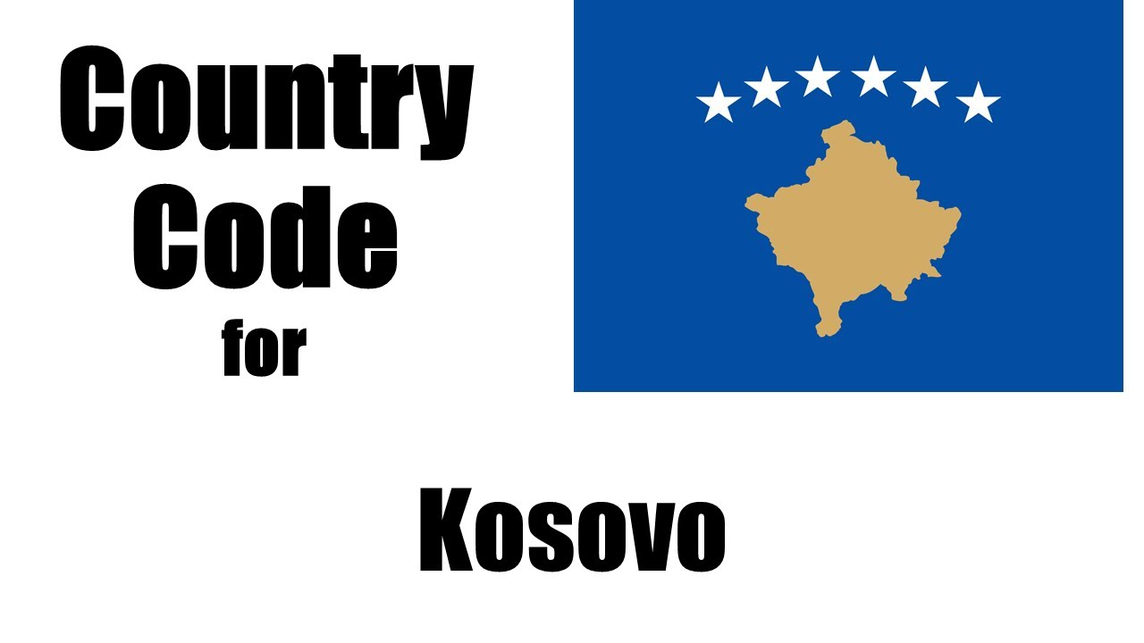 Kosovo Dialing Code Kosovar Country Code Telephone