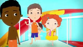 мультфильм Disney - Нине Надо Выйти! - серия 05 - Аквапарк | сериал для малышей