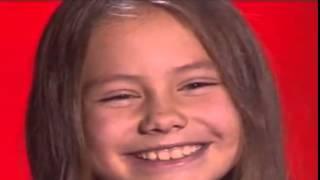 Голос  Дети   2 3 выпуск 27 02 2015   Мария Мирова  The Winner Takes It All
