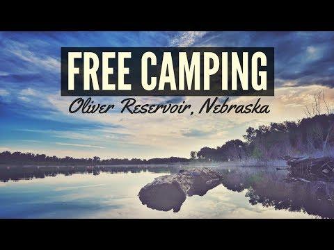 Free Camping at Oliver Reservoir, Nebraska ⛺✌ Full Time RV Living 🚐💨 Van Life and Free Boondocking