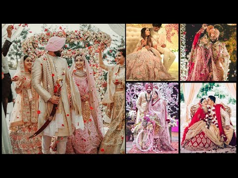 Bridal Lehenga Designs, Gown designs, Sherwani designs for couple || Indian wedding Outfit -FSHC