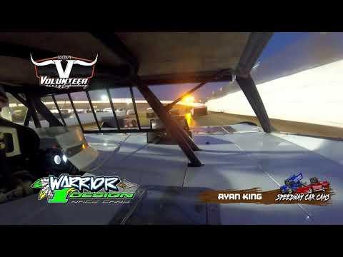 #1G Ryan King - #Grinch40 Xtream Dirtcar Series - 12-7-19 Volunteer Speedway - In-Car Camera