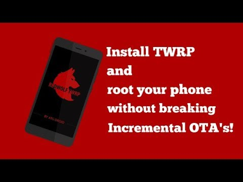 How to flash Redwolf Recovery on xiaomi redmi note 4/4x