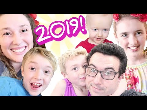 12 Hour Party! 2019 Ballinger Family New Year's Eve Celebration!