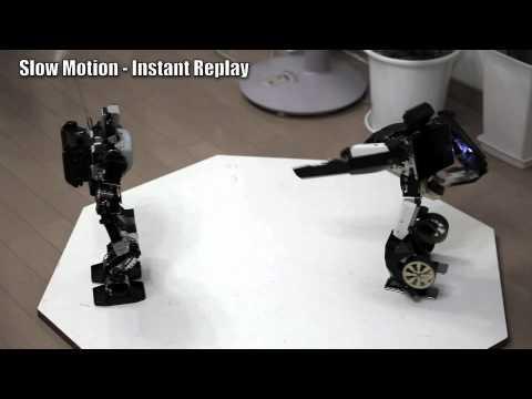 Brave Robot Transformer Meets Frog Foot