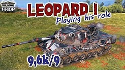 Leopard 1: Playing his role!