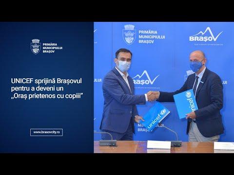 """UNICEF sprijină Brașovul pentru a deveni un ,,Oraș prietenos cu copiii"""""""