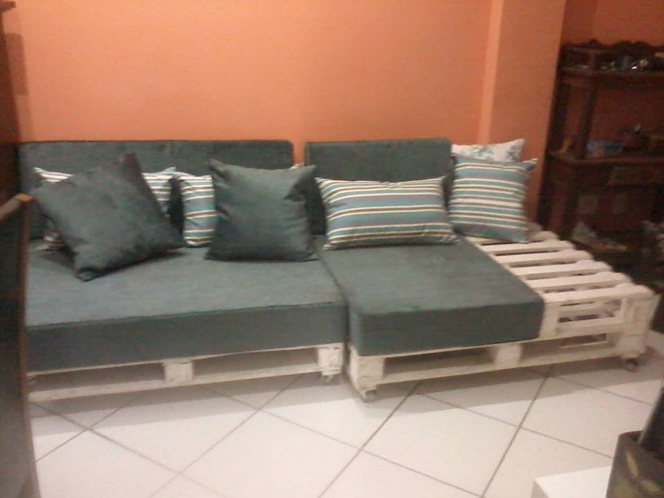 Sofa De Palets Youtube