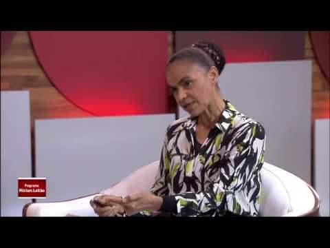 Entrevista Completa - Marina Silva sobre a Crise política a Miriam Leitão - GloboNews - 15/12/2016
