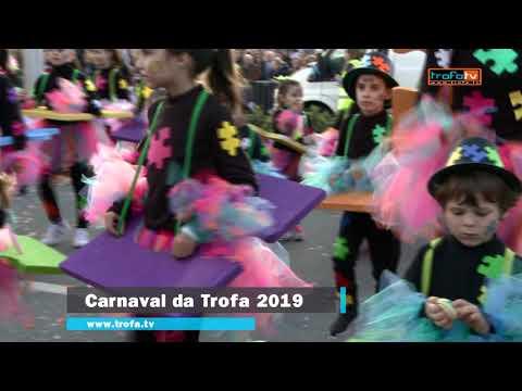 Participação da EB1/JI de Paradela, de Bougado, no Carnaval da Trofa