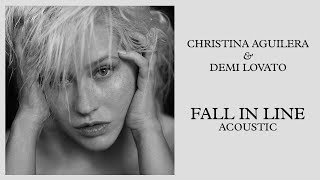 Christina Aguilera - Fall in Line (feat. Demi Lovato) [Acoustic] Video