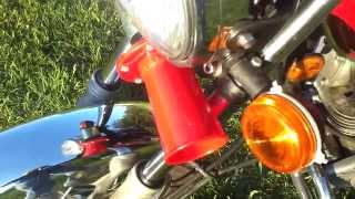 Harbor Freight Ooga Horn On Motorcycle
