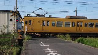 115系(伯備線普通列車2B)945M   二本木踏切通過