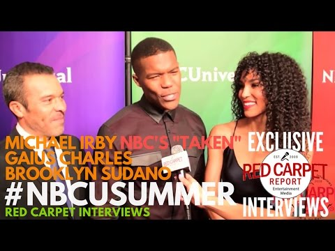Michael Irby, Gaius Charles & Brooklyn Sudano NBCUniversal's Summer 2017 Press Day