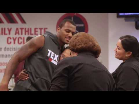Download Youtube: Watson gives first game check to cafeteria Stadium employees