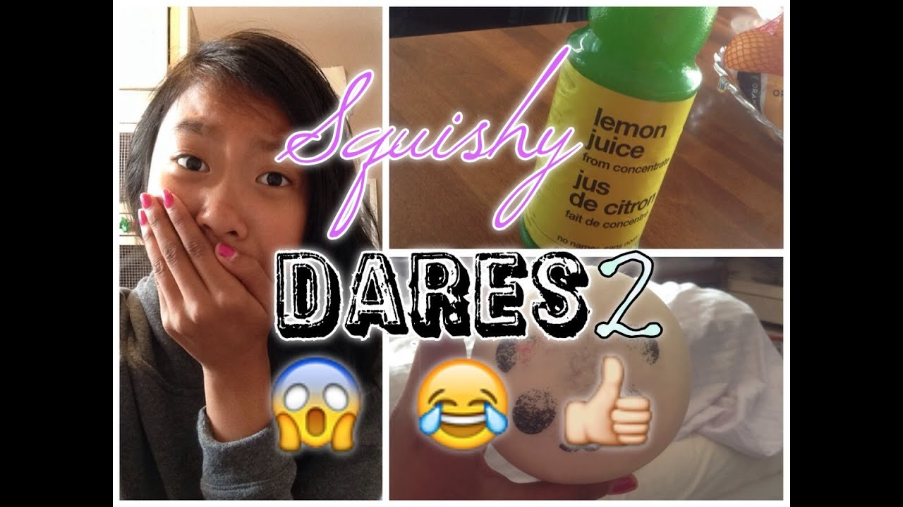 Squishy Dares To Do : SQUISHY DARES PART 2?! - YouTube
