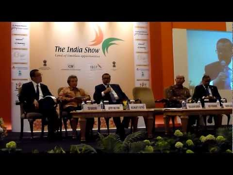 Panel Discussion on Mining & Energy at the India Show, Jakarta