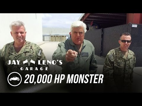 Jay Leno Gets Behind The Wheel Of A 20,000 HP Monster - Jay Leno's Garage