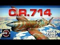 War Thunder Realistic: C.R.714 [A Challenge!]