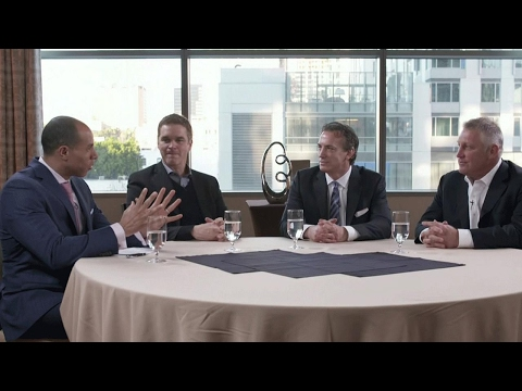 NHL Roundtable: Amber sits down with Robitaille, Sakic and Hull
