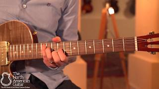 B&G Little Sister Private Build Wolf Burst Electric Guitar Played By Stuart Ryan (Part Two)