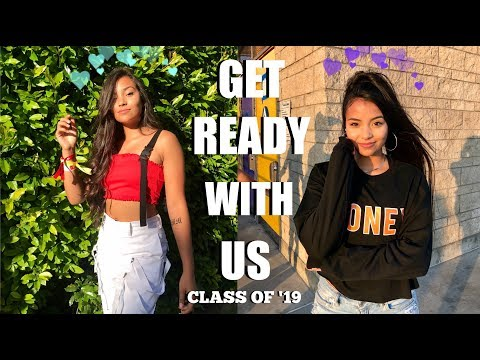 First Day Of School Get Ready With Me | Senior Year | Montoya Twinz