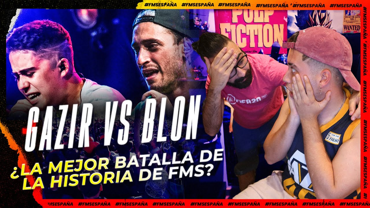 GAZIR VS BLON - ANALIZAMOS RIMA POR RIMA LA MEJOR BATALLA DE LA HISTORIA DE FMS