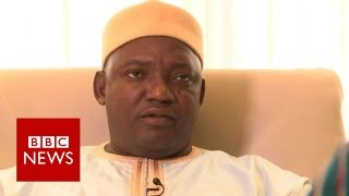 Gambia's Adama Barrow pledges to set up truth commission   BBC News