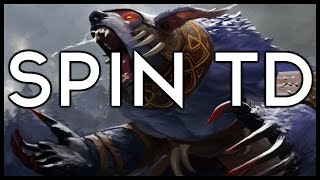 Dota 2 Mods | LIGHTNING BEAR!! | Baumi plays Spin TD