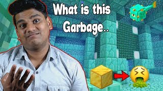 "You Call This Ocean Monument's Garbage.. ""Treasure""??  Minecraft - Part 29"