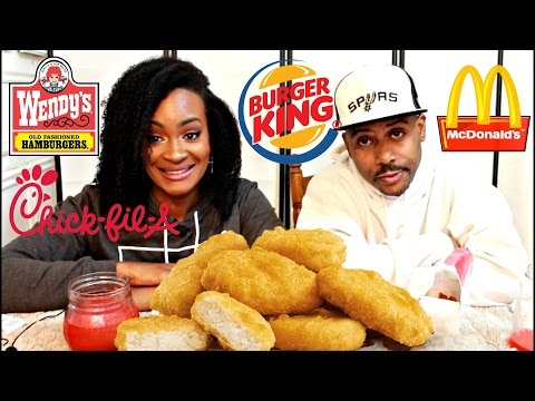 MUKBANG: FAST FOOD CHICKEN NUGGET WAR! WHO HAS THE BEST NUGGETS?