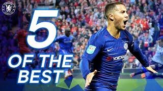 5 Of The Best   Chelsea's Premier League Away Goals v Liverpool   Ft. Hazard, Demba Ba & More screenshot 2
