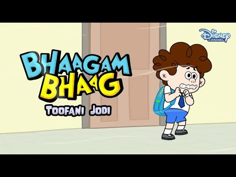 Download Bhaagam Bhaag Episode 4 - Funny Hindi Cartoon  For Kids - Disney India