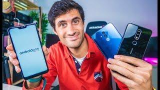 TOP 3 MELHORES SMARTPHONES ABAIXO de 150€ (Novembro 2018)
