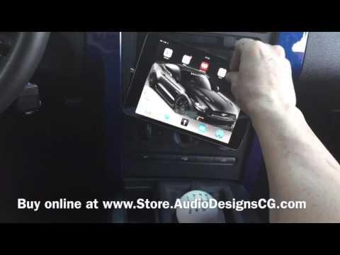 IPad Mini Custom Dash Kit For 05-09 Ford Mustangs