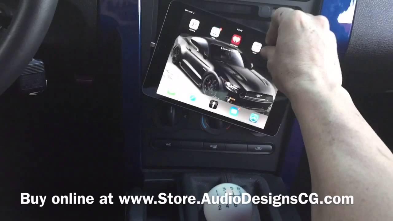 05-09 Ford Mustang iPad Mini & Nexus 7 Dash Kit