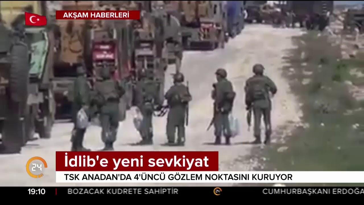 TSK'dan İdlib'e yeni sevkiyat