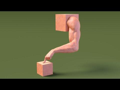 Exercise blender sculpture 02.arm