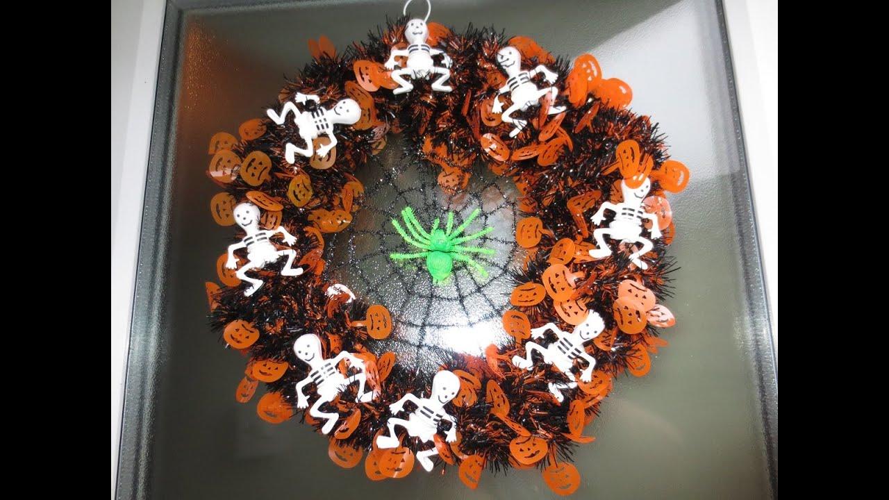 Diy halloween wreath - Diy Halloween Wreath 23