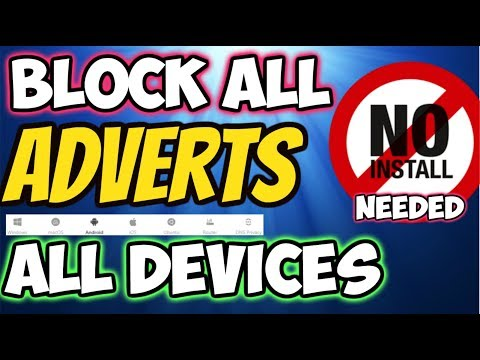 🔴MAKE EVERYTHING AD-FREE Firestick Android IPAD Devices No Root 2018
