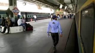 12216 WAP5 BDTSDEE Garib Rath commences its journey from Bandra