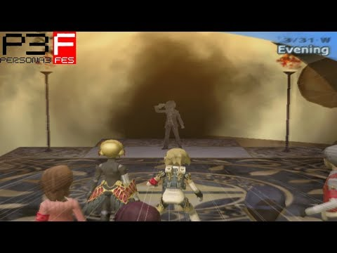 Persona 3 FES: Vs ??? (The Protagonist) [The Answer]