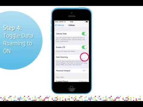iphone 5c not turning on iphone 5c turn on data roaming 9785
