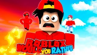 ROBLOX Adventure - WOULD YOU RATHER?!!