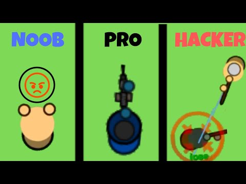 Noob Vs Pro Vs Hacker | Surviv.io