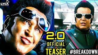 2.0 - Official Teaser [Tamil]   Rajinikanth   Akshay Kumar   A R Rahman   Shankar   Subaskaran